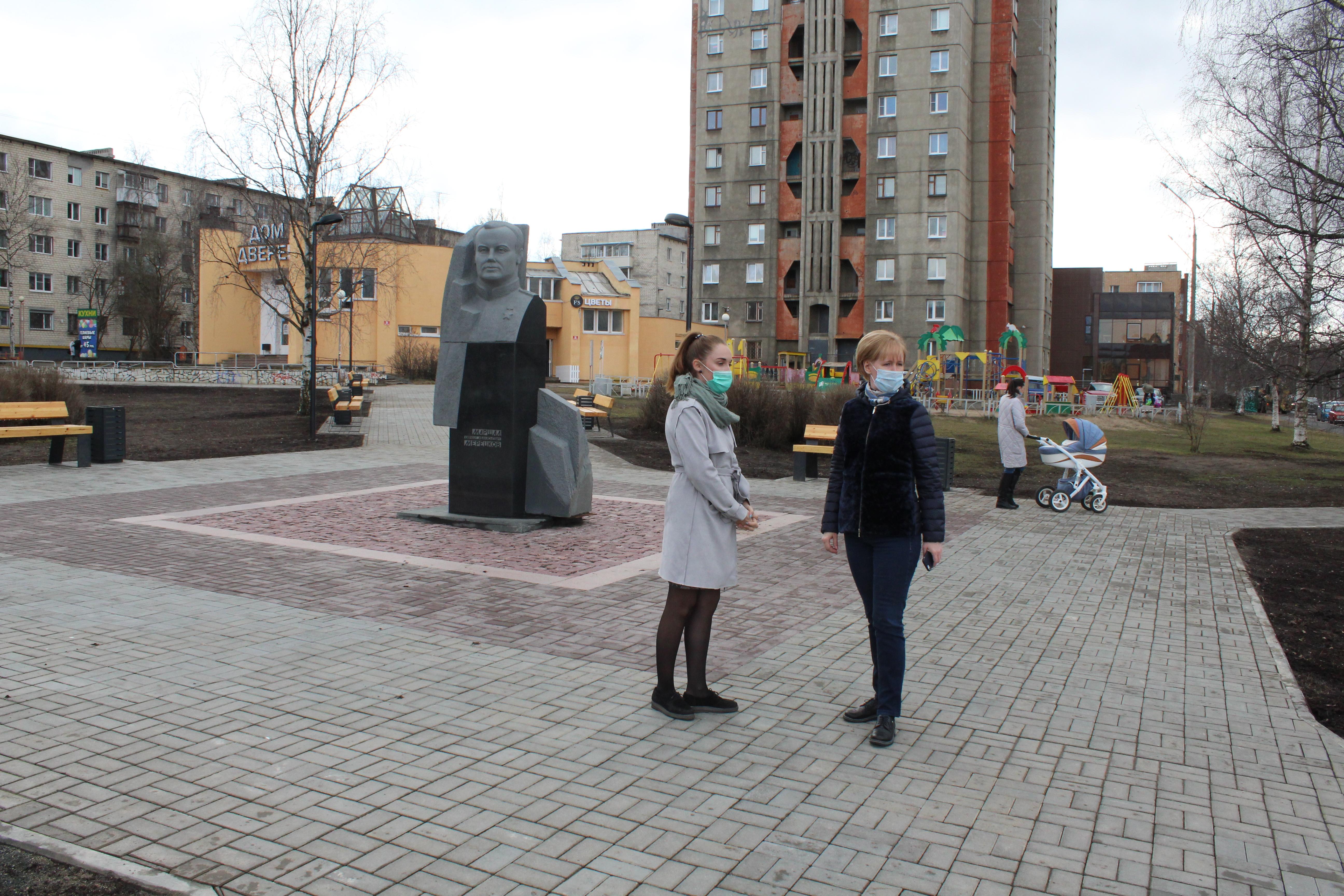 Администрация Петрозаводска проводит обследования благоустроенных в прошлые годы общественных территорий