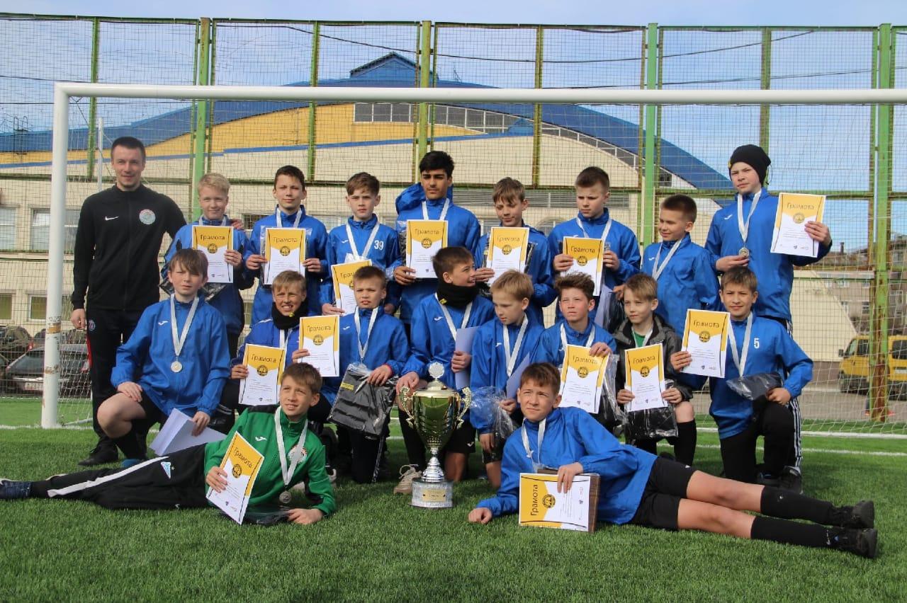 Футбольная команда из Петрозаводска - призер турнира в Череповце
